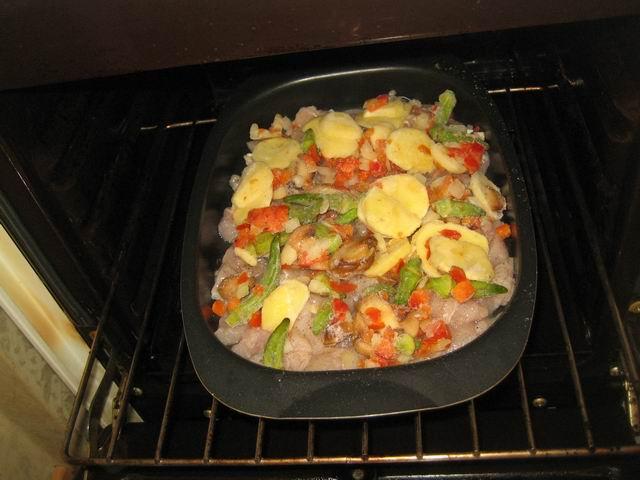 куриное филе с овощами рецепты в духовке