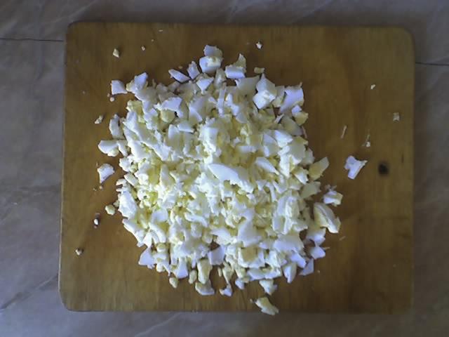 салат оливье из курицы рецепт с фото