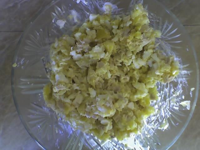 Салат оливье из курицы