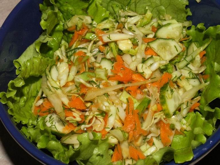Фото испорченный салат